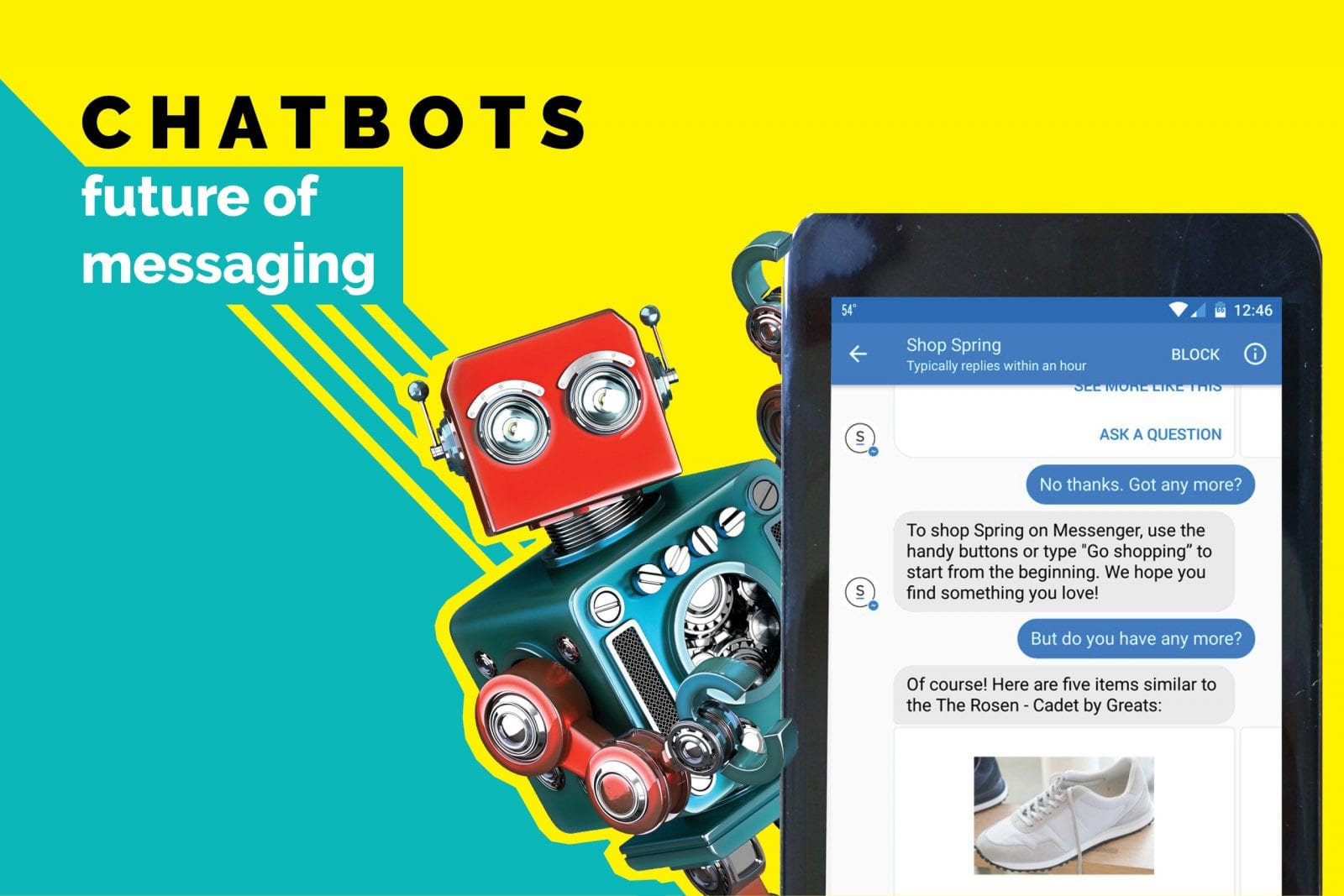 Chatbots are the future of Instant messaging