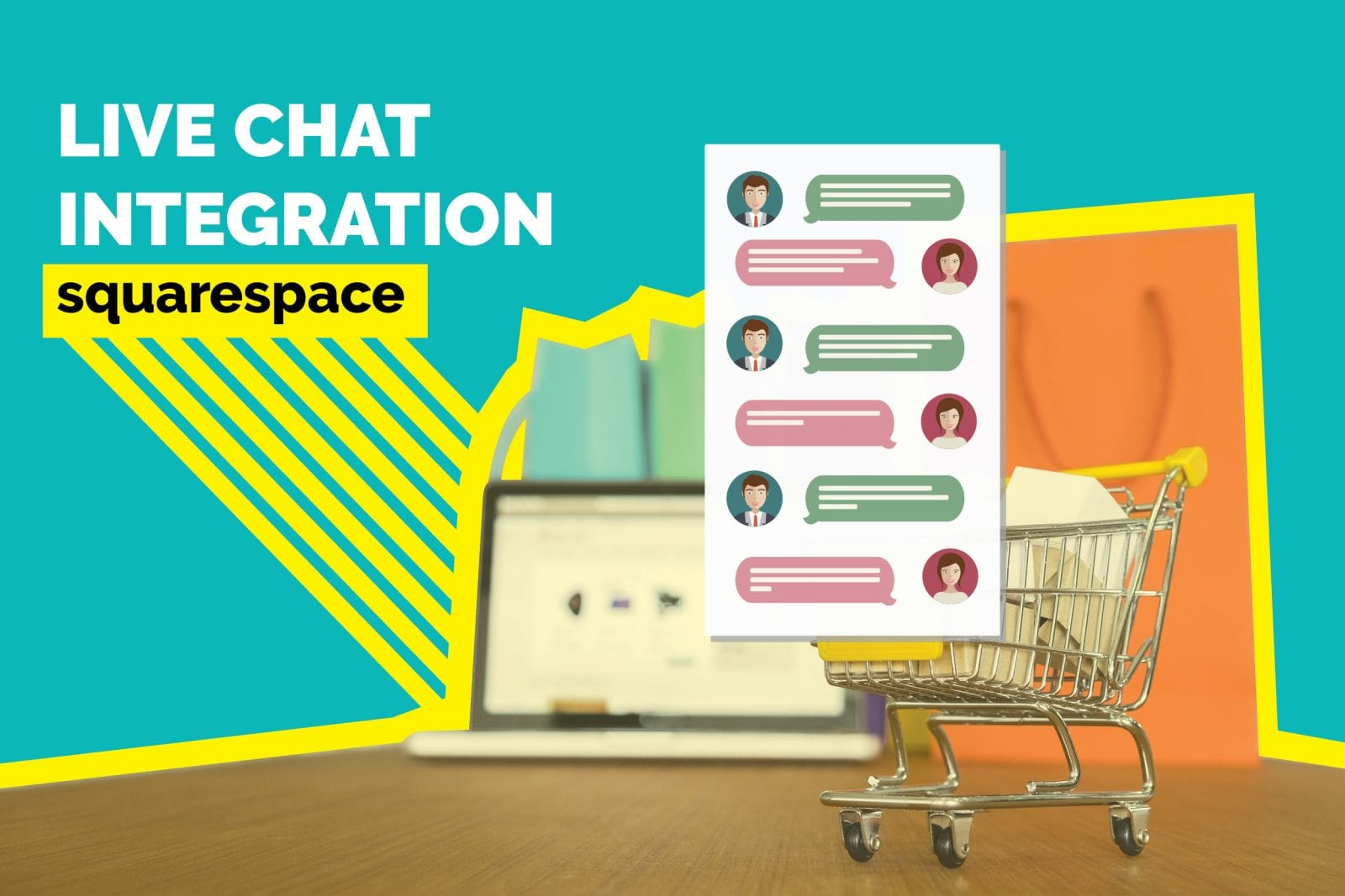 How to Add Live Chat Plugin in Squarespace Websites