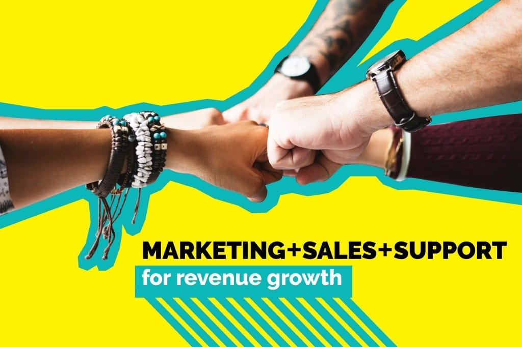 marketing, sales, support alignment