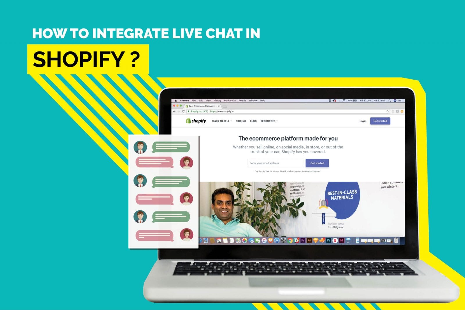 live chat in shopify