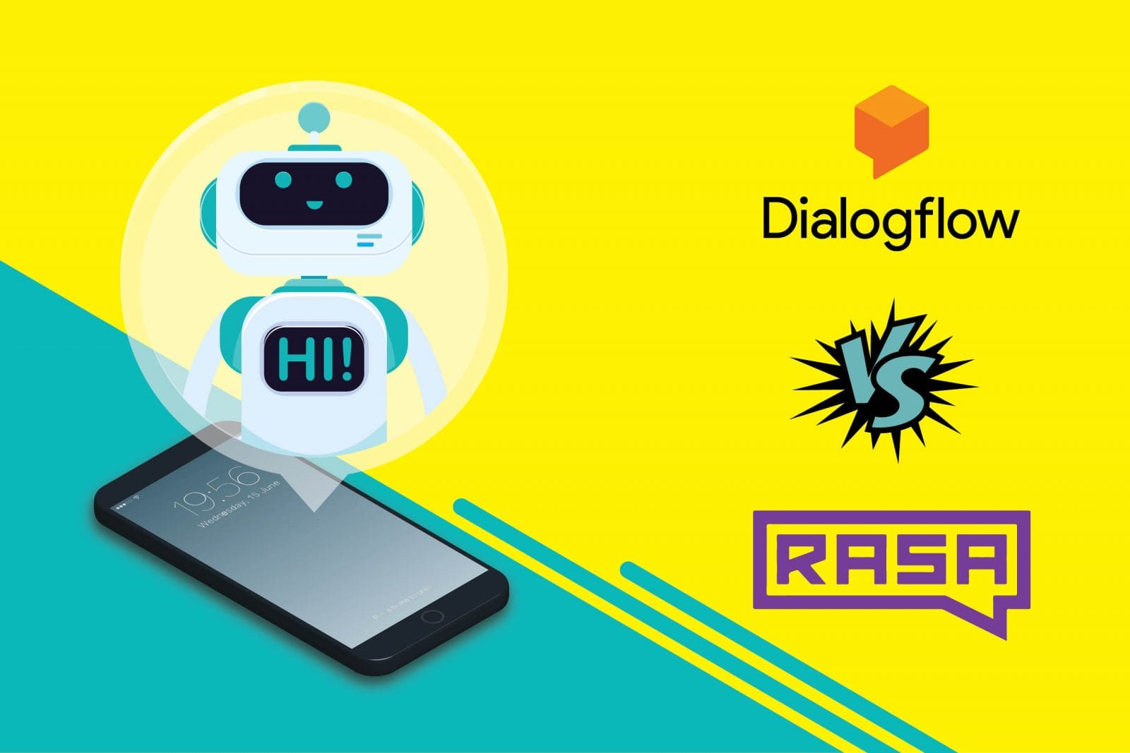 Dialogflow vs Rasa comparision