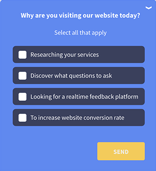 Qualaroo survey template