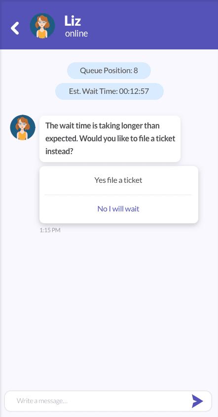 Bot Human handoff wait phase