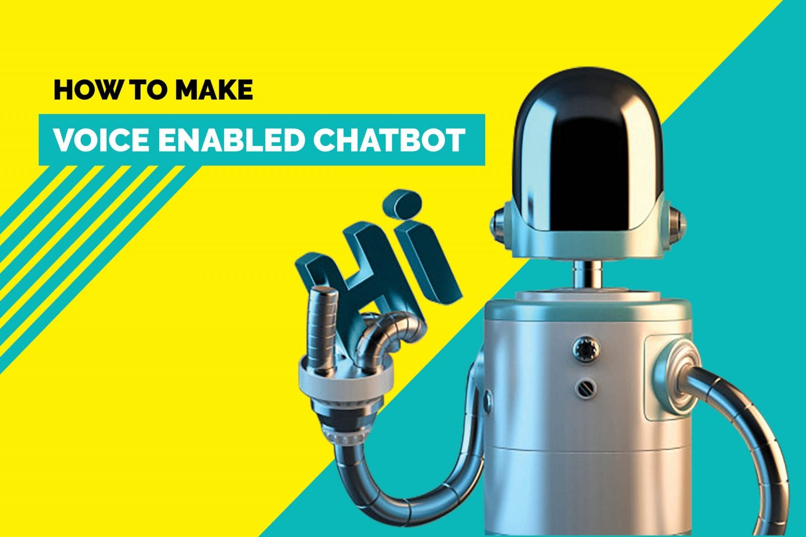 how to make a voice enable chatbot