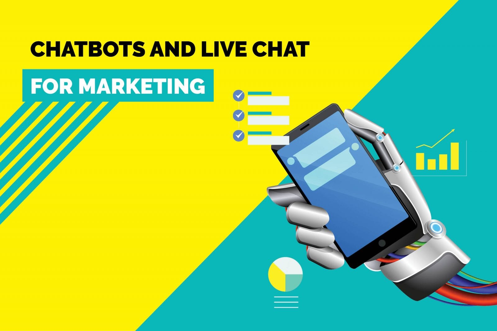 chatbots and live chat for marketing