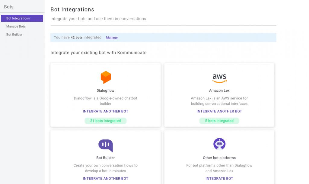 Add Dialogflow Bot to WordPress - Kommunicate bots