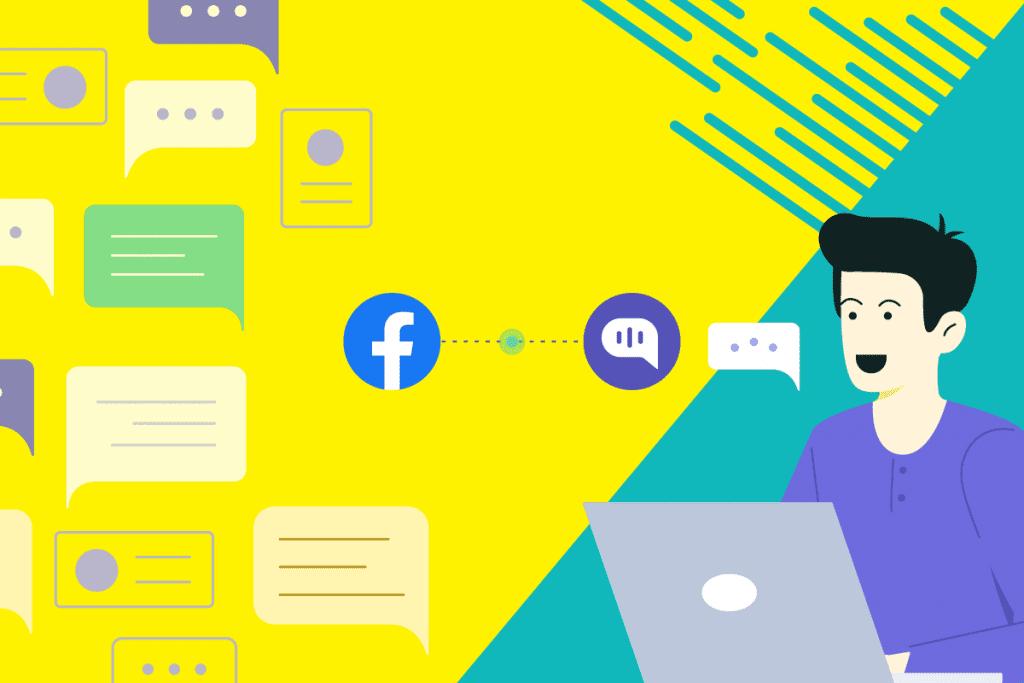 Kommunicate's facebook integration - header