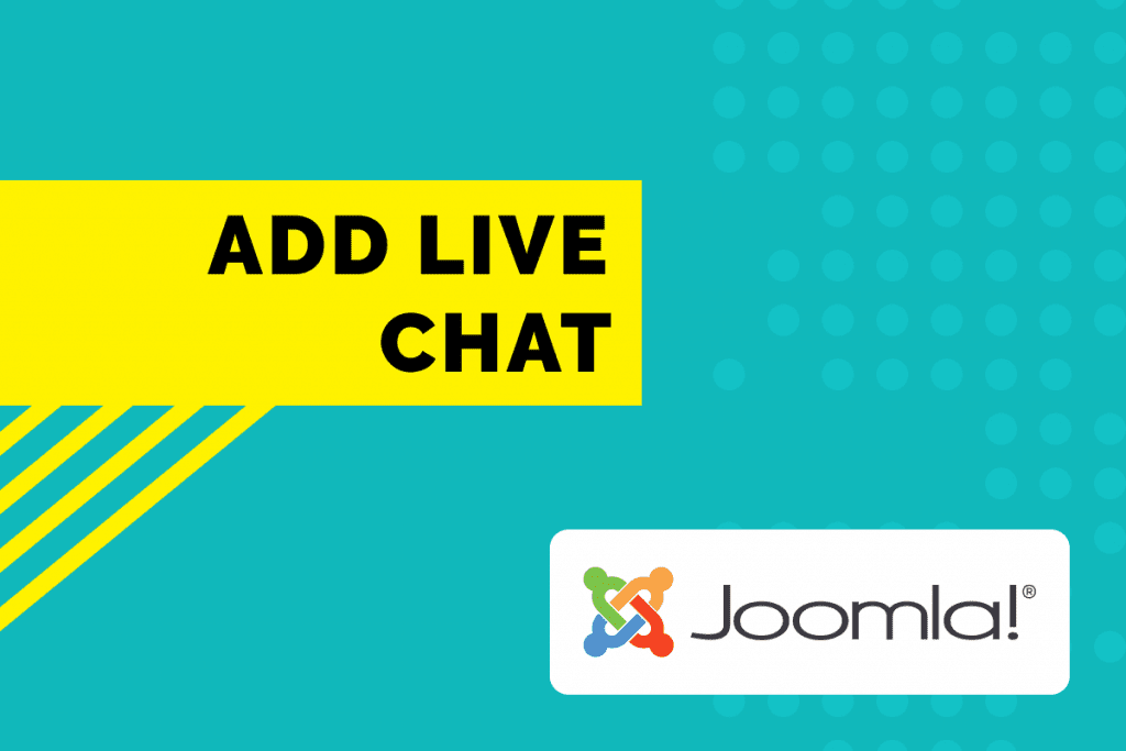Add live chat to Joomla