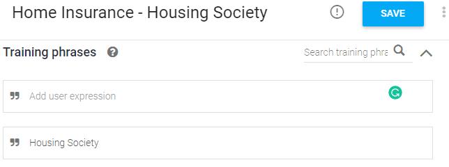 Home Insurance - Housing Society